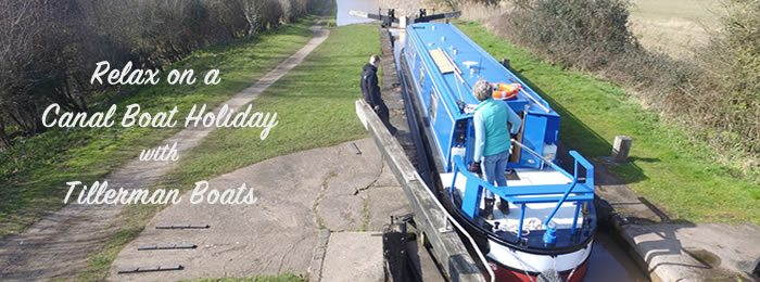 Relax on a Tillerman Boats Canal Boat Holiday